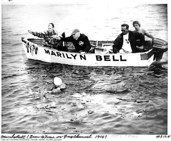 toronto lake ontario swimmer marilyn bell juan de fuca