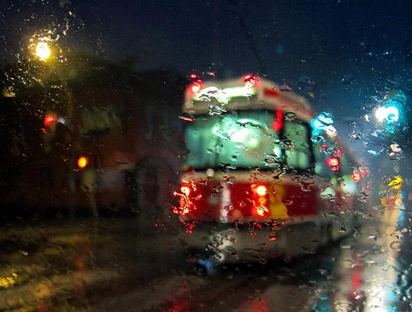 wet streetcar