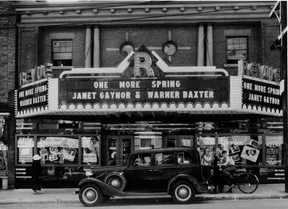 old revue cinema