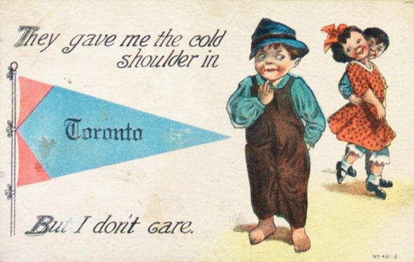 toronto tourism vintage postcards