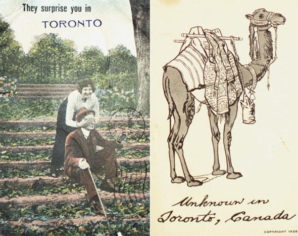 toronto vintage postcards