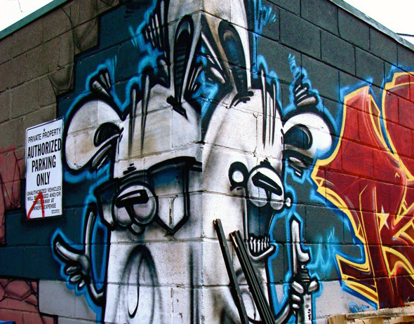 POSER Graffiti Toronto