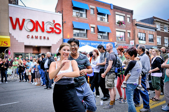 Taste of Danforth 2012
