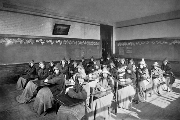 toronto vintage school class room