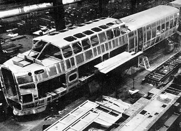 turbotrain construction