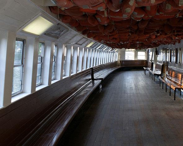 toronto ferry interior