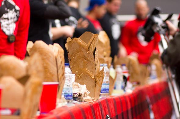 toronto world poutine eating championship 2012