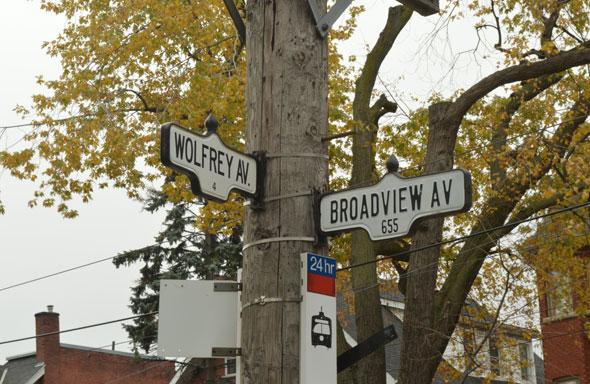 toronto wolfrey avenue
