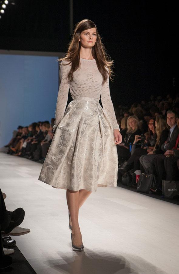 toronto fashion week 2012 pink tartan