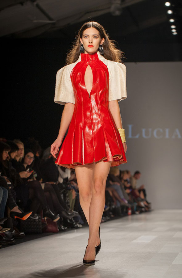 toronto fashion week lucian matis