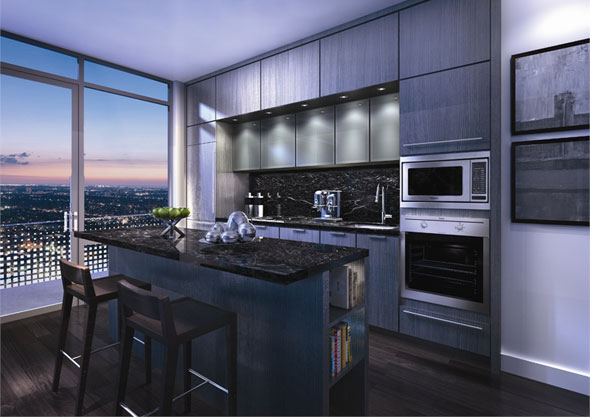 New In Toronto Real Estate King Blue Condominiums