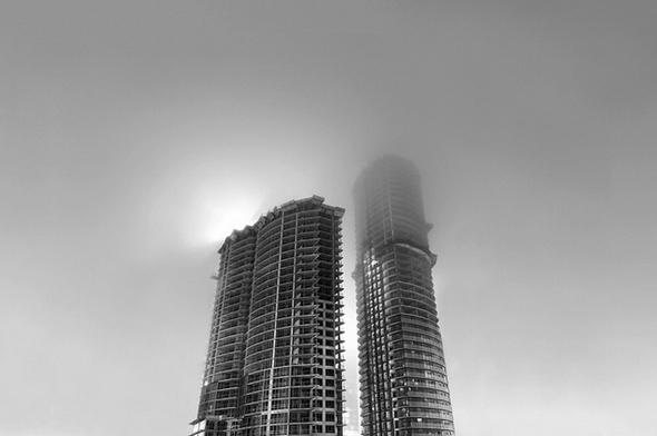 Toronto condos fog