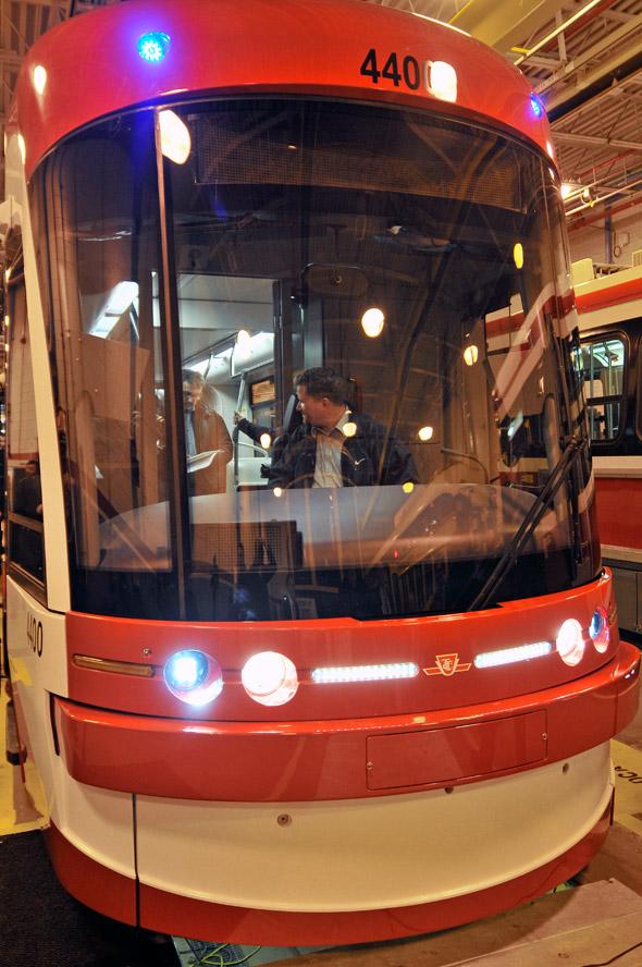 Bombardier streetcars