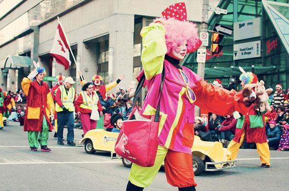 2012 santa claus parade