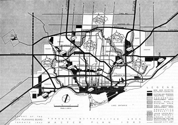toronto highway map