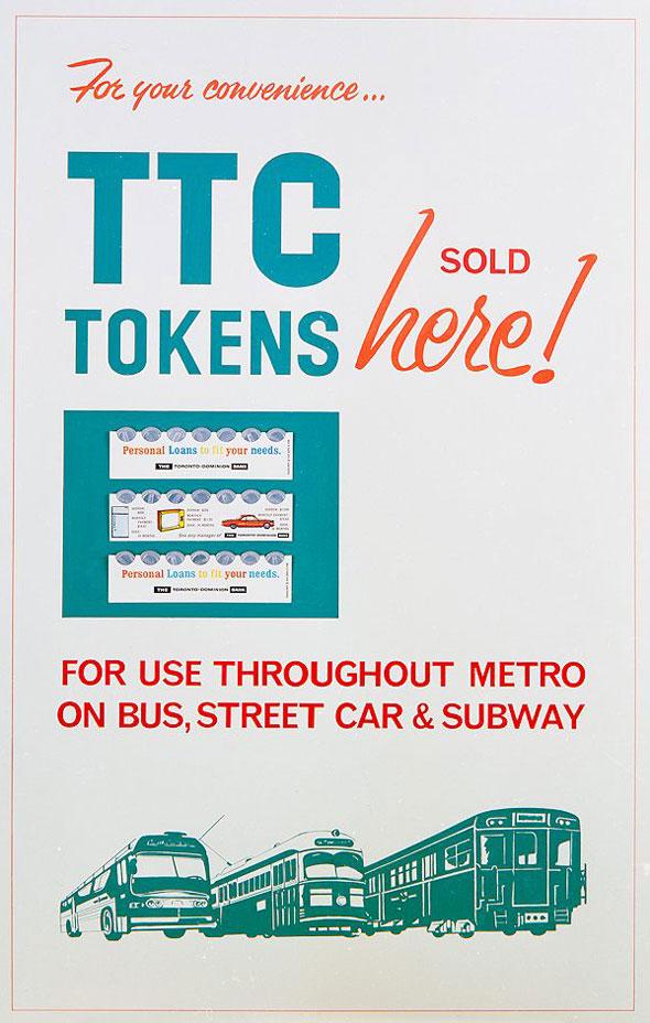 toronto ttc tokens