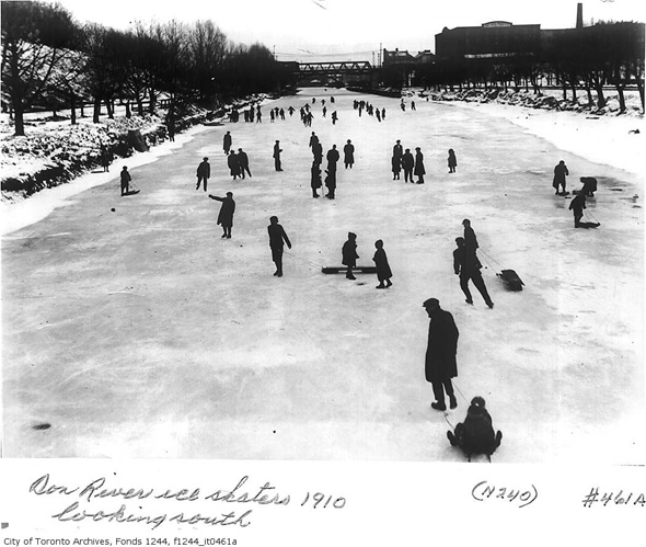 Vintage Photos Of Winter Sports In Toronto