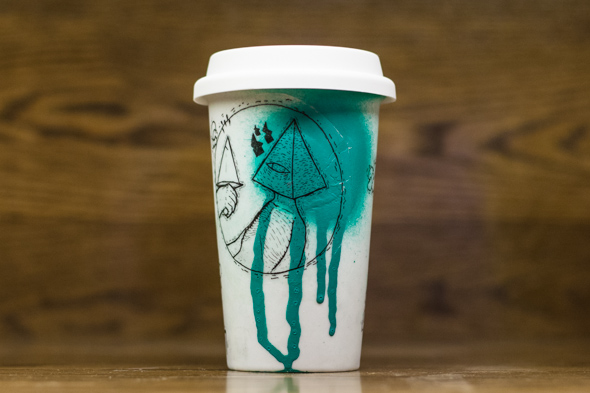 Coffee Cup Art