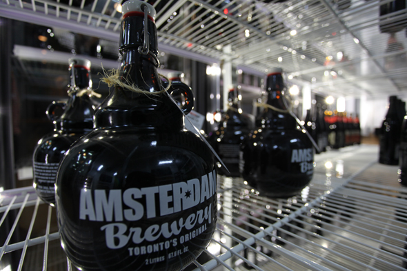 amsterdam brewery new location toronto