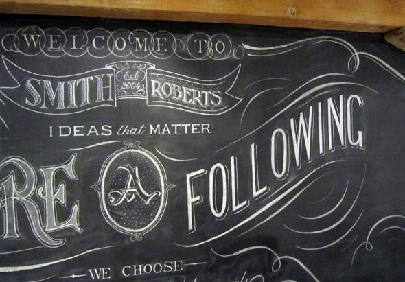 Chalkboard artist toronto