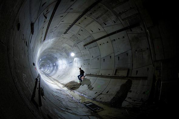 Subway tunnel toronto