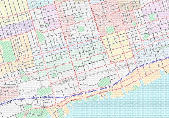 Ben Brommell Torontn Map