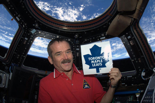 toronto chris hadfield