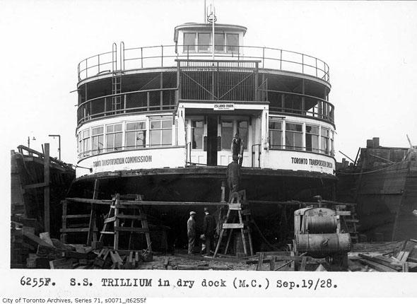 toronto trillium ferry