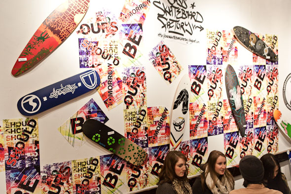 Oasis Skateboard Factory Pop-Up