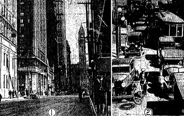 toronto traffic 1930s