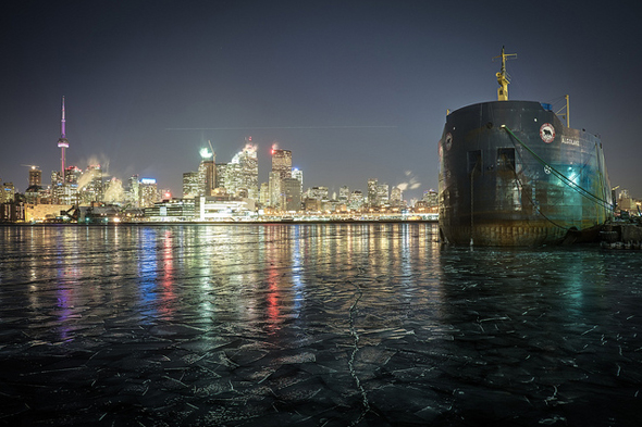 Toronto Skyline Winter