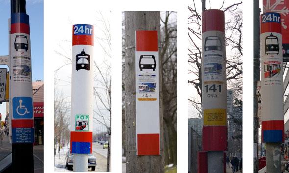 ttc stop poles