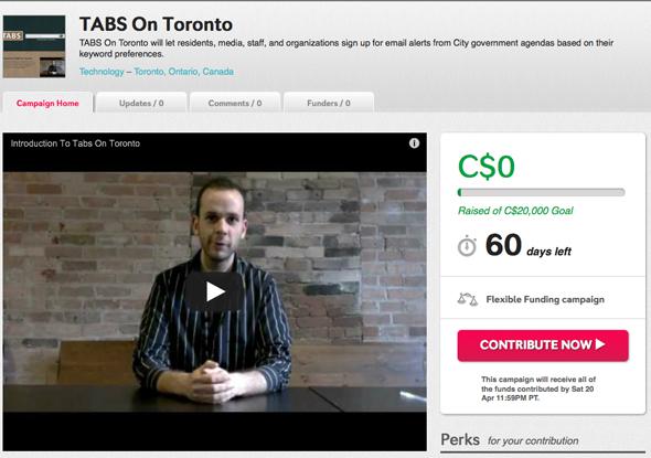 Tabs Toronto