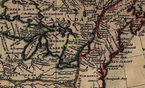 lake toronto map