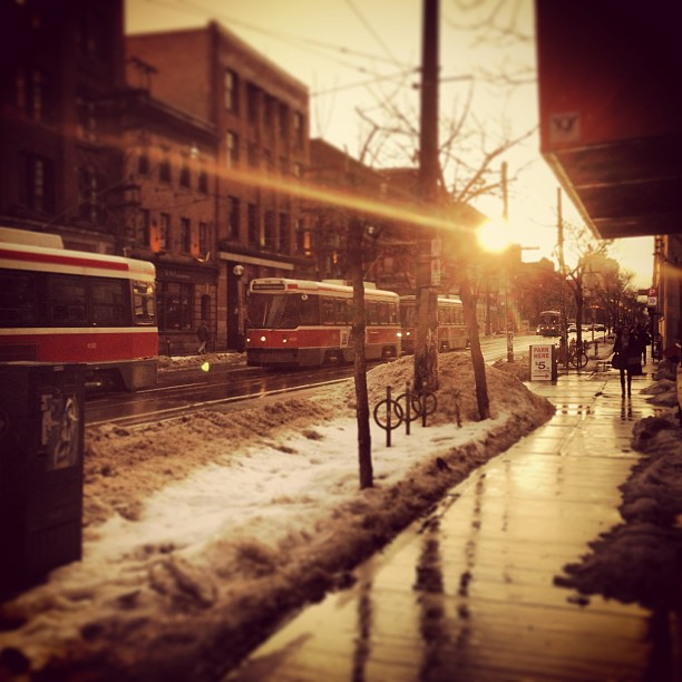 Streetcars Toronto