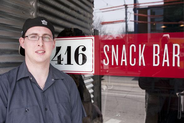 Rory McGouran 416 Snack Bar