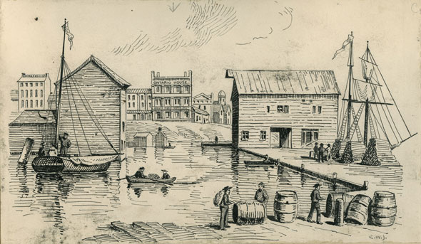 toronto maitland's wharf