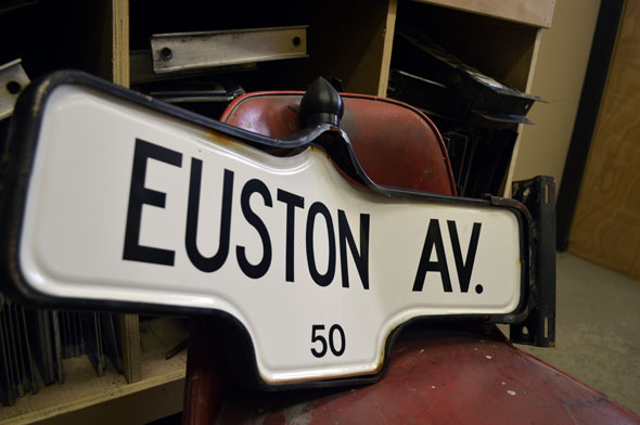 toronto disused street signs