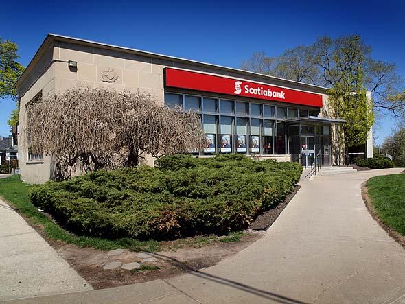 Bank of Nova Scotia building, Weston Road and Eglinton West