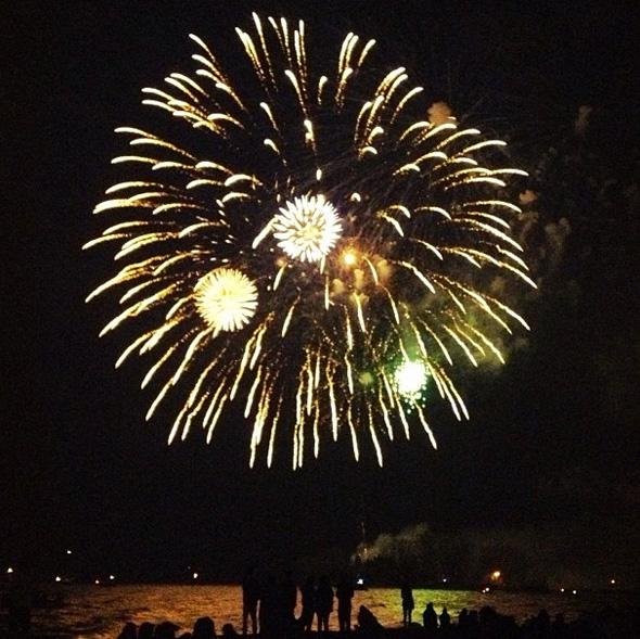 Victoria Day Fireworks Toronto