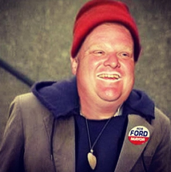 Rob Ford crack