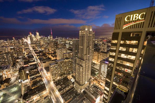 Blue Hour Toronto