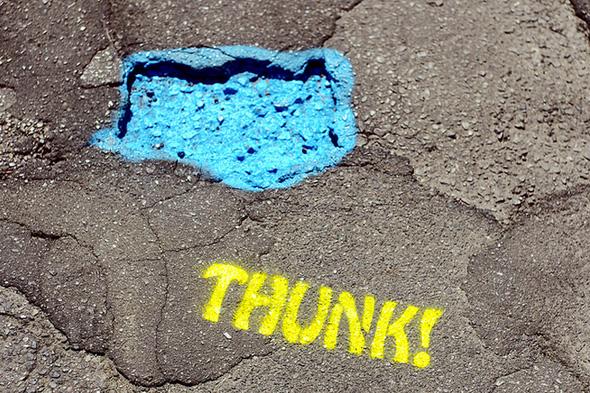 Toronto pothole warnings