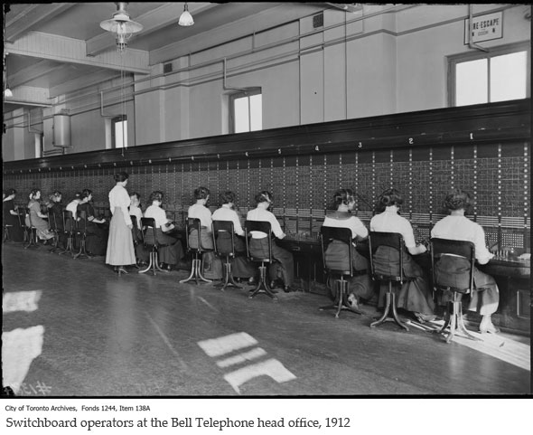 toronto bell switchboard