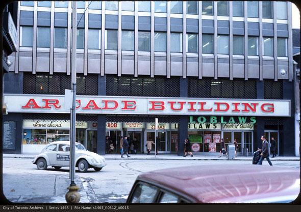 toronto arcade building