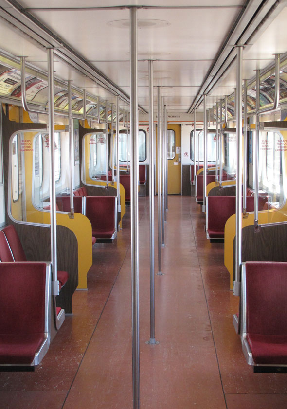 Time To Say Goodbye To The Ttc S Oldest Subway Train