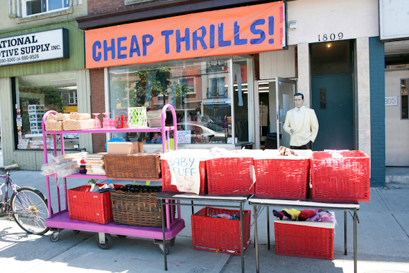 Cheap Thrills Danforth