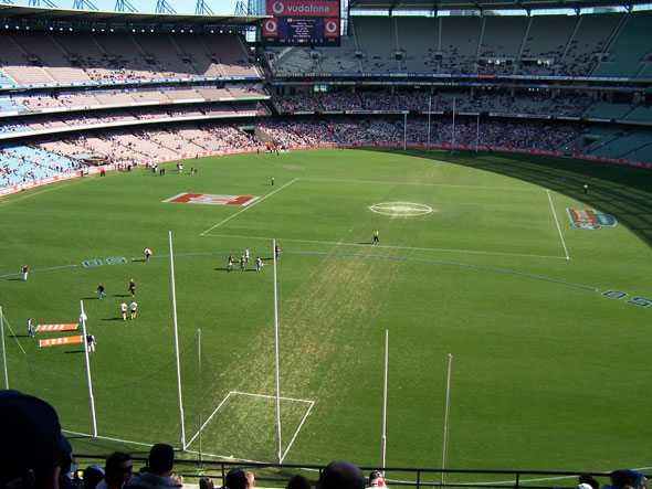 That time Australian Rules football came to Toronto