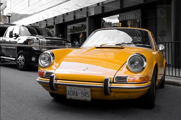 Vintage Porsche 911