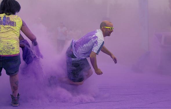 Colour me Rad running